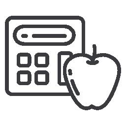 Икона - кантар с ябълка