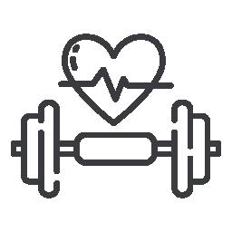 Икона - тежести със сърце