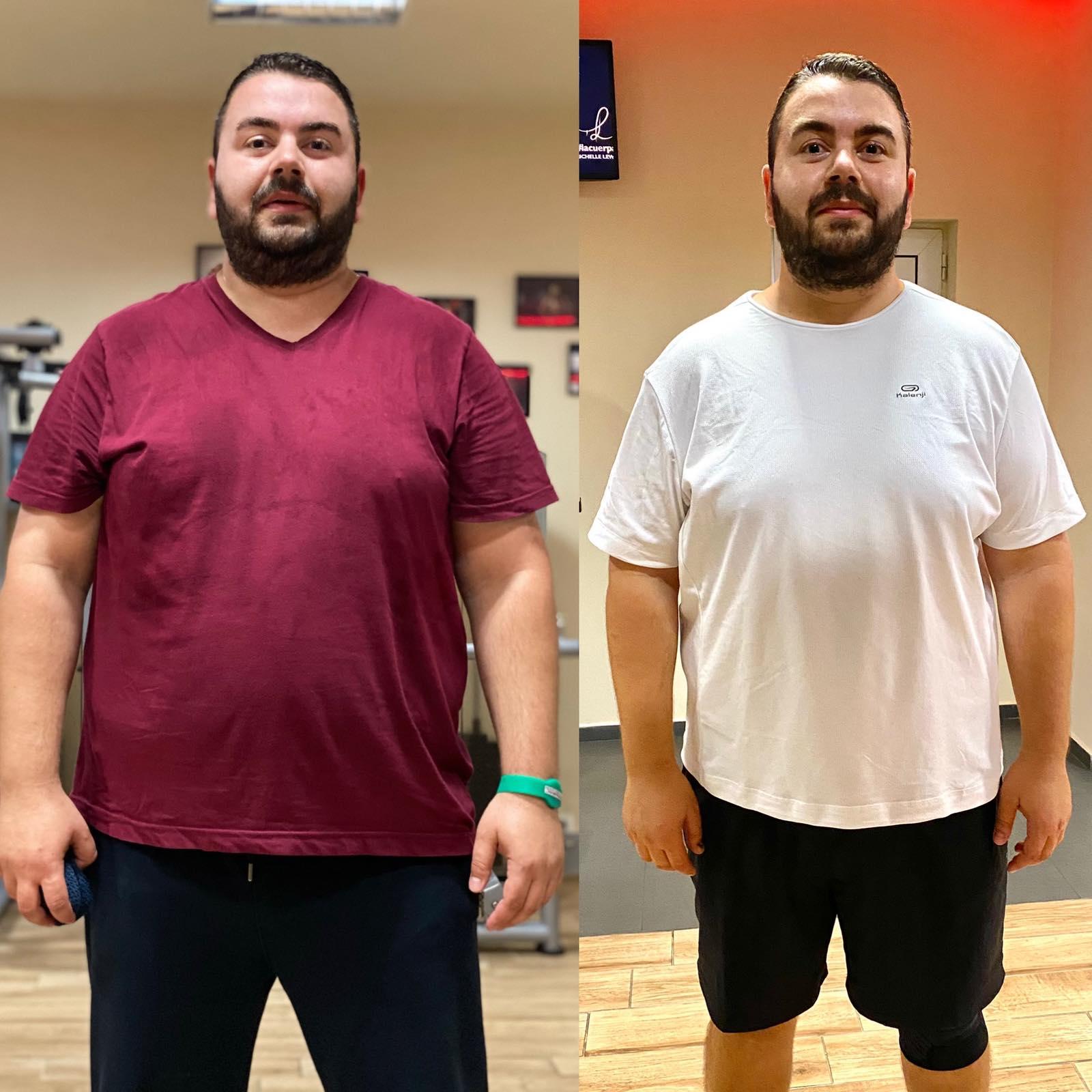 Да се свалят килограмите било трудно?